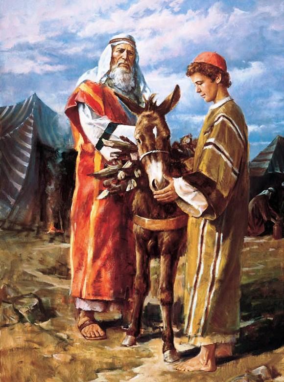 Abraão e Isaque